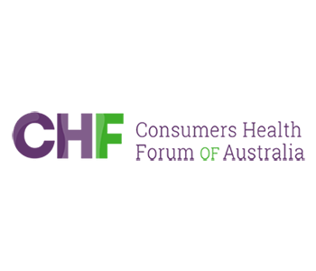 Consumer Health Forum of Australia logo