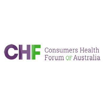 Consumer Health Forum of Australia logo